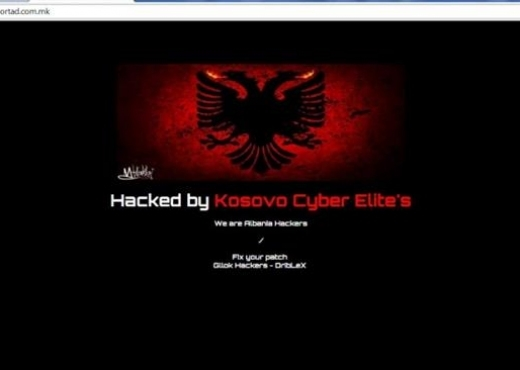 Hacked by Kosovo