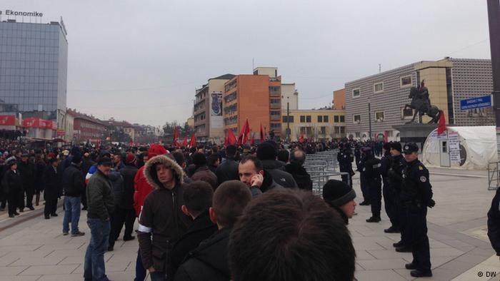 Kosovo: Albaner demonstrierten gegen Regierung