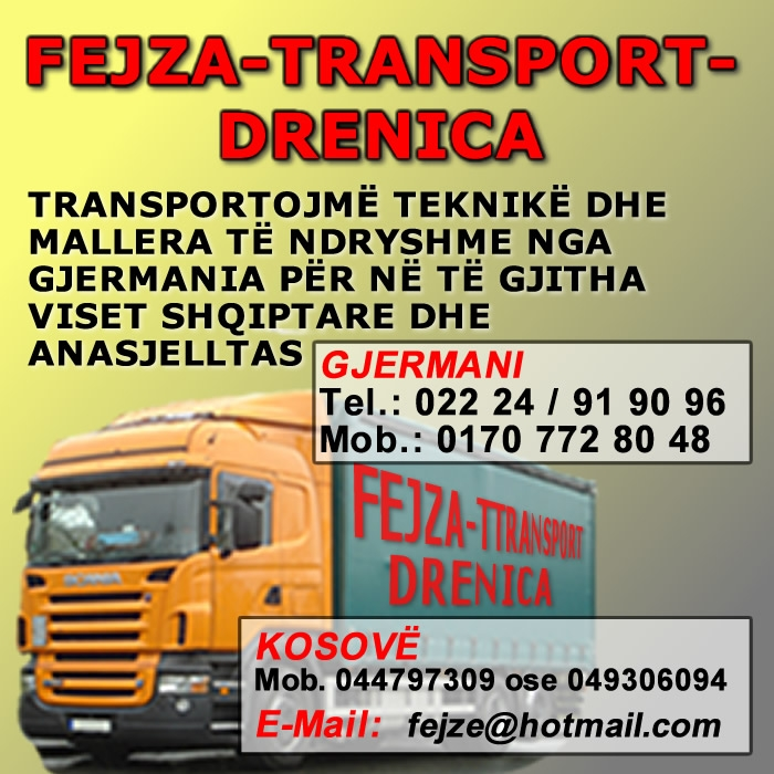 Fejza Transport Drenica