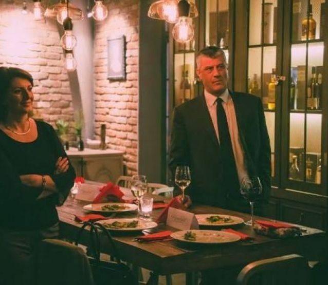 Jahjaga e Thaçi në festën e kulturës franceze në Kosovë