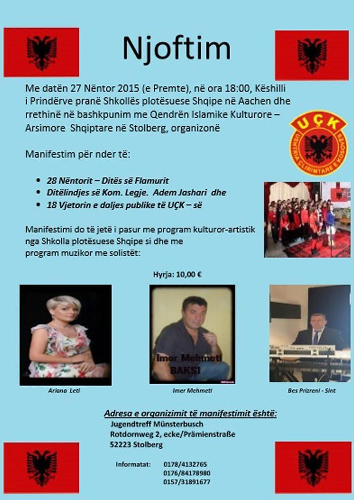 Manifestimi i 28 Nentorit në Stolberg