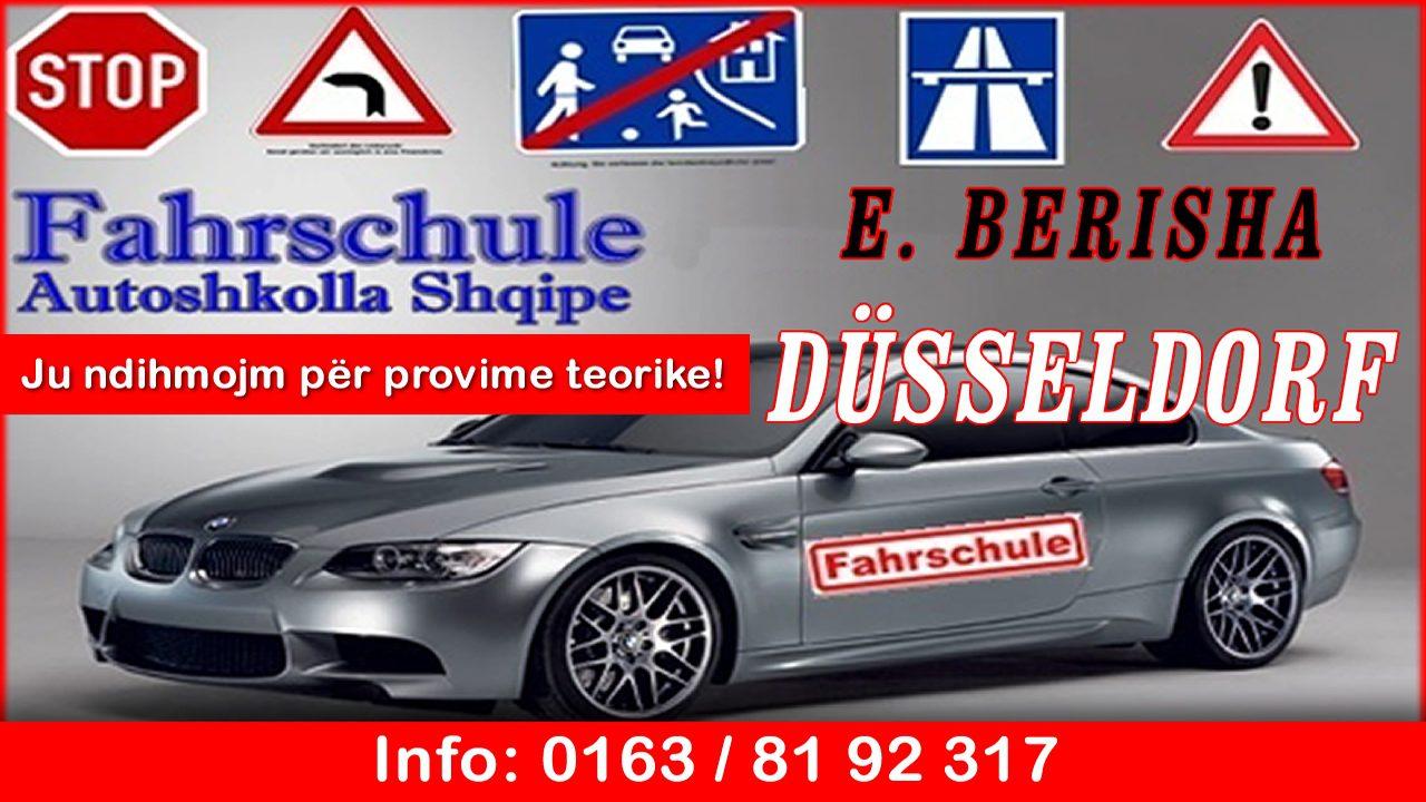 Autoshkolla Shqipe E. Berisha në Düsseldorf