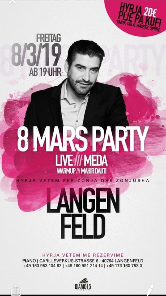 8 Marsi ne Langenfeld per Zonja dhe Zonjusha