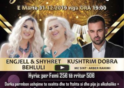 31.12.2019 Gelsenkirchen - Gëzur 2020 me ARTI EVENTS - Engjel & Shyhrete Behluli dhe Kushtrim Dobra
