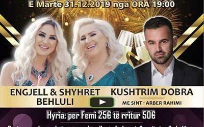 31.12.2019 Gelsenkirchen – Gëzur 2020 me ARTI EVENTS – Engjel & Shyhrete Behluli dhe Kushtrim Dobra