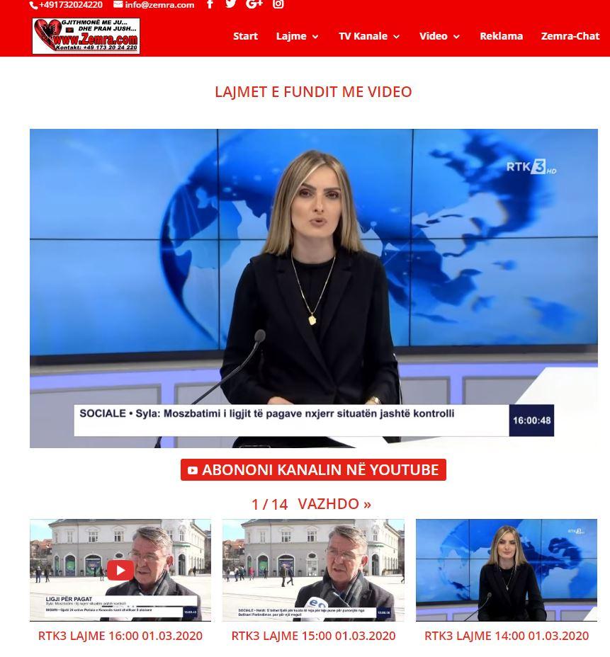 Lajmet E Fundit Me Video Nga RTK KTV KLAN RTV21 KlanKosova