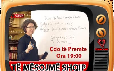 Të mësojmë shqip – Me Prof.Asoc.Dr. Genta Skura