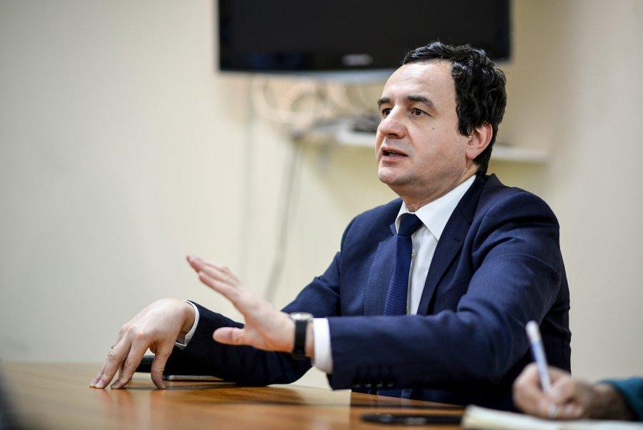 Albin Kurti: Në asnjë mënyrë nuk nisim luftë të tretë ballkanike që të bashkohemi me Shqipërinë!